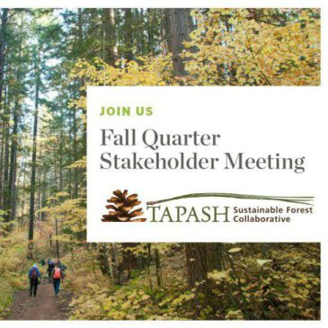 Tapash Quarterly Stakeholder Meeting Dates
